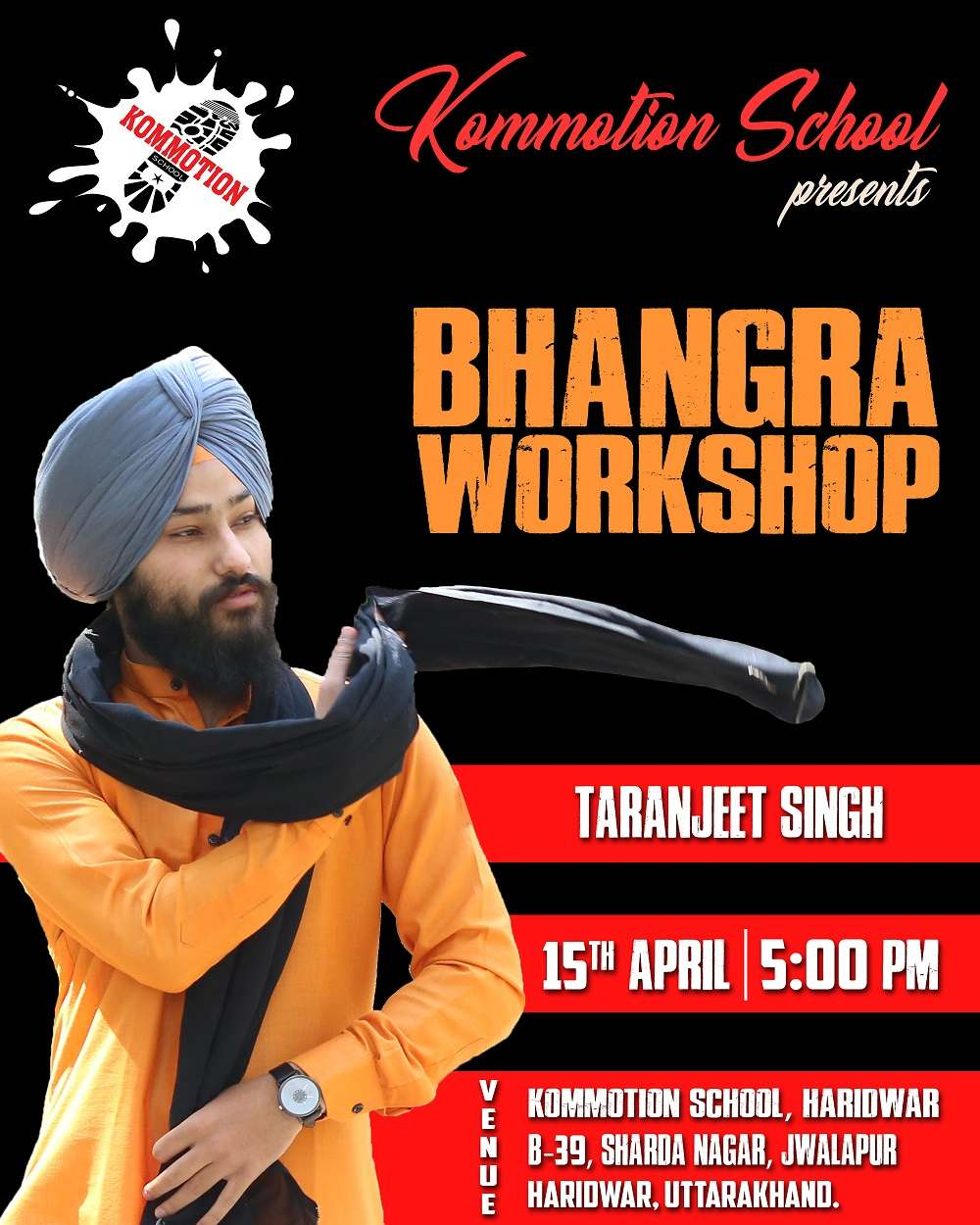 Kommotion School | Bhangra Workshop