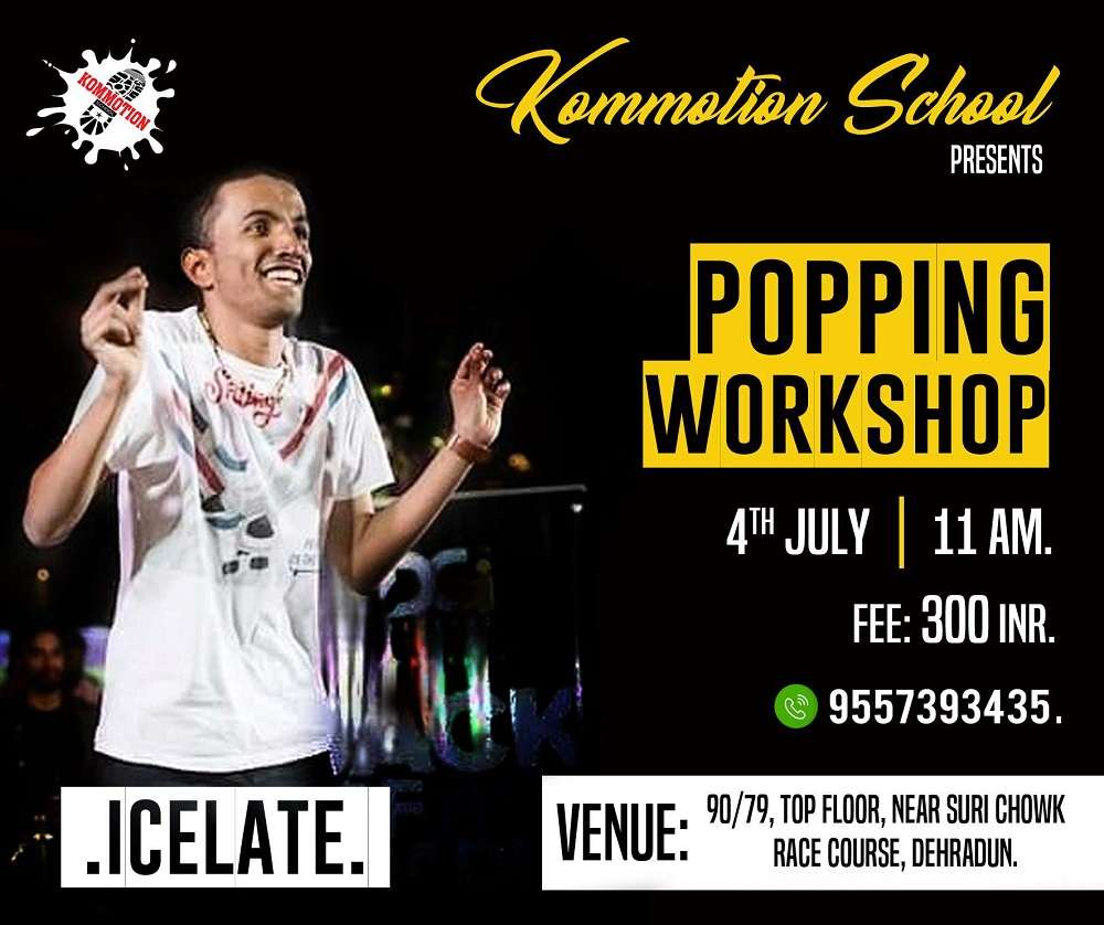 Popping Workshop