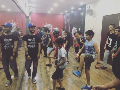 Krump Workshop at Kommotion School