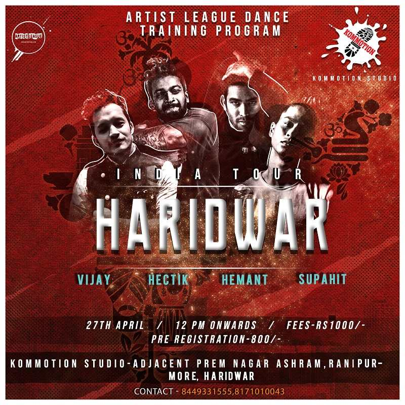 Kommotion Haridwar | Artist League Tour